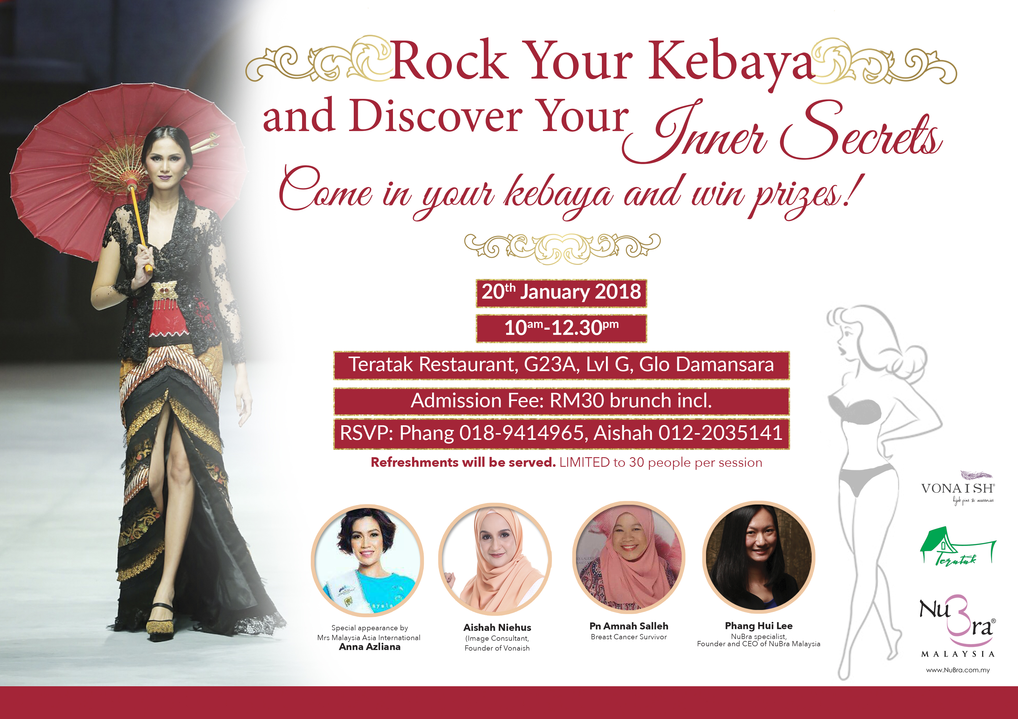 Rock Your Kebaya   Discover Your Inner Secrets  f88379afb4