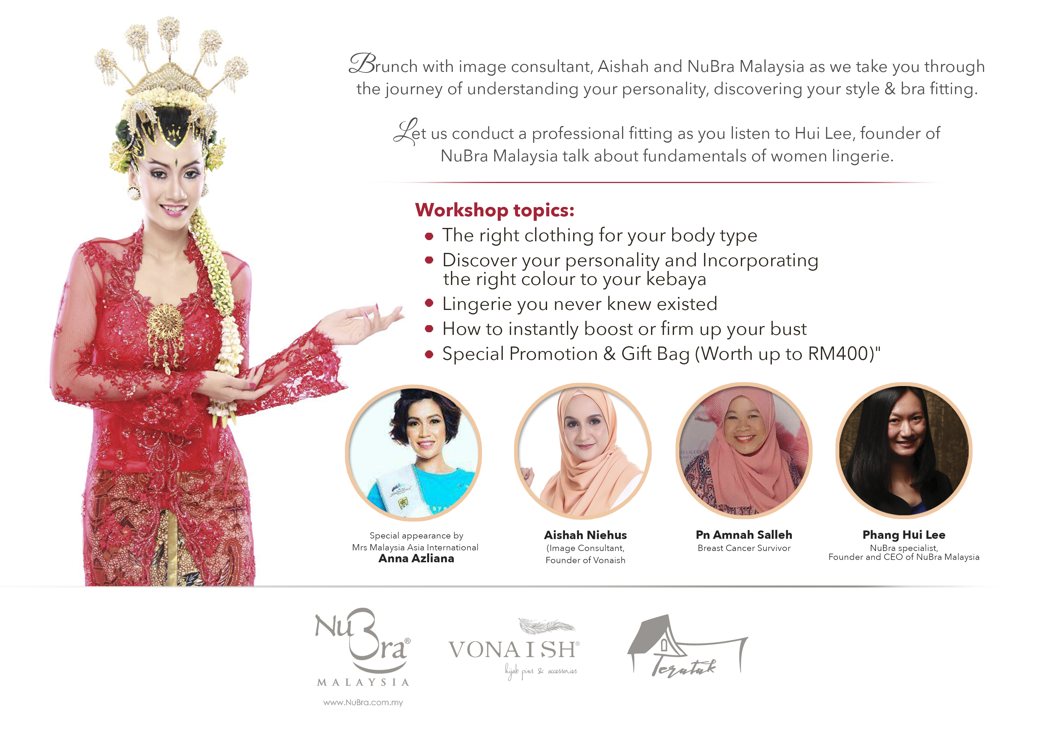 Rock Your Kebaya   Discover Your Inner Secrets. 28 Dec 2017. Previous  Increase Your Butt Size With The Right Silicone Padded Panties 0c5cee241e